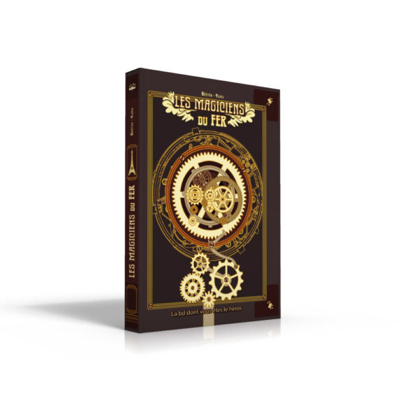 BD magicien de fer - Arcane Game - Escape game nancy