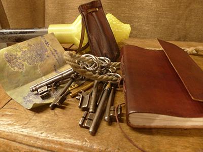 Chasse au trésor équipement carte aventuriers